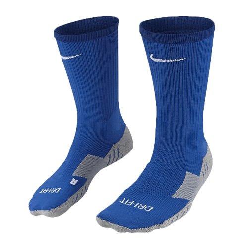 Nike Herren Matchfit Cushion Crew-Team Socken -Blau (Royal Blue/Bright Blue/White) , XL