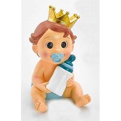 Figura niño hucha tarta BAUTIZO figuras BABY SHOWER huchas infantiles pastel