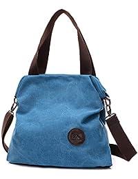 fd594b134be XMY Bolsos de lona casuales colegio viento bolsos de lona de viaje simples
