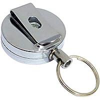 STOBOK 6 unids Metal Retráctil Badge Holder con Clip ID Badge Hebilla Tarjeta Clips para estudiantes Doctores Maestros