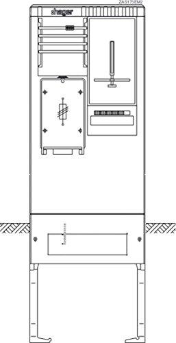 hager-zas175em2-zahleranschlusssaule-rwe-rheinenergie-kevag-swb-rhhew-1zp-hak-tn-c-netz