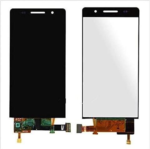 Huawei Ascend P6 Display im Komplettset LCD Ersatz Für Touchscreen Glas Reparatur (Schwarz)