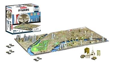 4D Paris Cityscape Time Puzzle (4D Cityscape) por 4d Cityscape Inc.