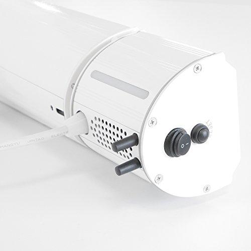 VASNER Appino BEATZZ Infrarot-Heizstrahler weiß, Terrassenstrahler dimmbar 2000 W, Bluetooth, LED Backlight Licht, Musik-Lautsprecher Außenbereich - 3