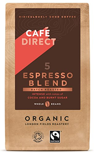 Café Direct Organic Espresso Blend Whole Beans Coffee 41gFwIunNVL
