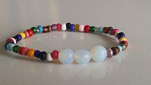 pulsera-piedra-luna-cristal-mil-caras-con-bolitas-de-colores-envio-gratis