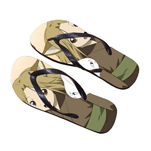 Bromeo Natsume Yuujinchou Anime Unisexe Flip Flops Tongs 739