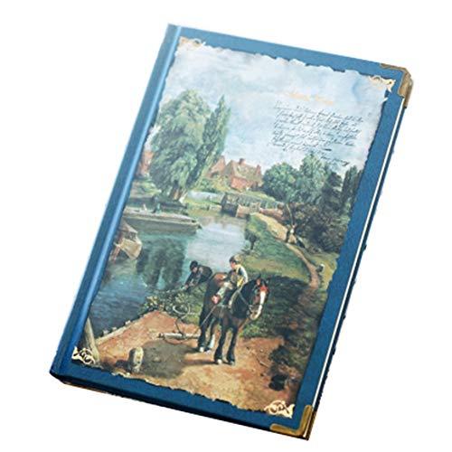 YWHY Notizbuch A5 Hardcover Notizbuch Vintage Tagebuch Notizblock Großbritanniens Größte Landschaftsmaler Des 19. Jahrhunderts 1 Stücke -