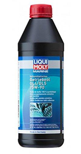 Olio totalmente sintetico 75W-90, per gli ingranaggi dei motori Volvo Penta e MerCruiser, 1 litro.