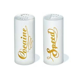 DONKEY  Products Salz- & Pfefferstreuer Speed & Cocaine
