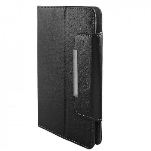 ROYALZ Hülle für Alcatel 1T 10 Tasche (10.1 Zoll) Schutz Case Cover Schutzhülle Schutztasche mit Aufsteller in hochwertiger Leder-Optik, Farbe:Schwarz