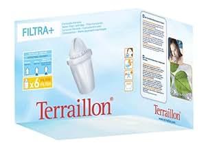 Terraillon 7932 cartouche filtrante pack 6 filtra cuisine - Cartouche filtrante terraillon ...