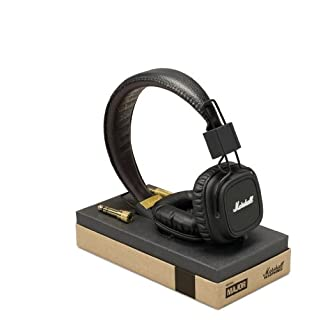 Marshall Major Headphones with Mic - Black (B00590GH8K) | Amazon Products