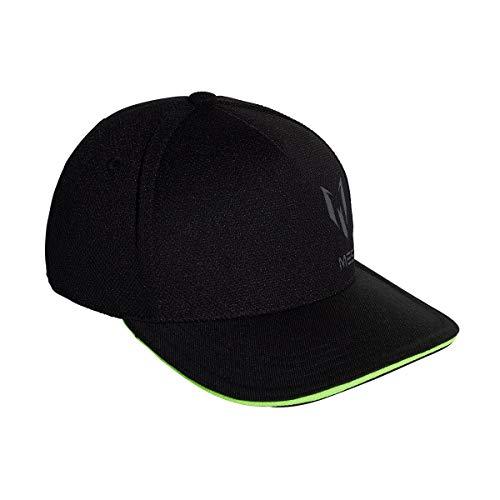 adidas Messi Chaqueta con Capucha, Infantil, DJ2254, Black/Solar Green, Talla única