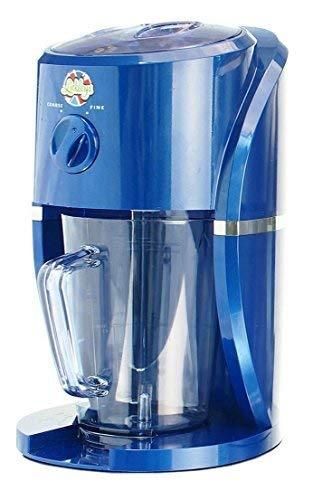 Clásico Azul lickleys Cono de Nieve Hielo Afeitadora / GRANIZADO Maker hace Home hielo bebidas, Nieve Conos , slurpees, (Máquina Solo)