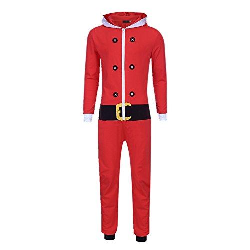 WanYang Erwachsene Weihnachten Elf Kostüm Weihnachtsfeier Kleidung Interessant Cosplay Kostüme Fasching - Halloween-kostüme Interessante Günstige