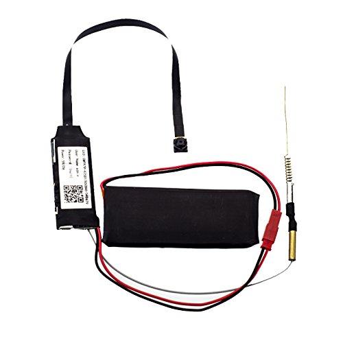 Full HD Mini WLAN Mini IP Kamera K23 Überwachungskamera mit Speicher und Bewegungserkennung, MicroSD, Zugriff auf Browser und - Für über Buch Bugs Kinder