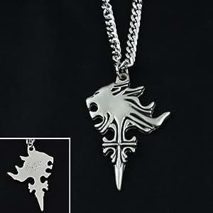 NEW Final Fantasy VIII FF8 Sleeping Lion Chef Pendentif de collier en métal Cosplay