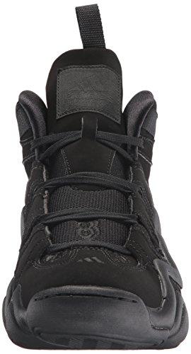Adidas Performance Crazy 8 Basketball-Schuh, klar Onix, 6,5 M Us Schwarz/Schwarz/Schwarz