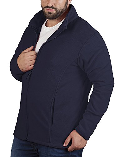 Promodoro Mens Fleece Jacket C+ Marineblau