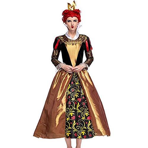 Kostüm Zeigen Verwendet - QWE Halloween kostüm pfirsich Herz königin cos Kleidung Retro Gericht kostüm Damen Zeigen kostüm