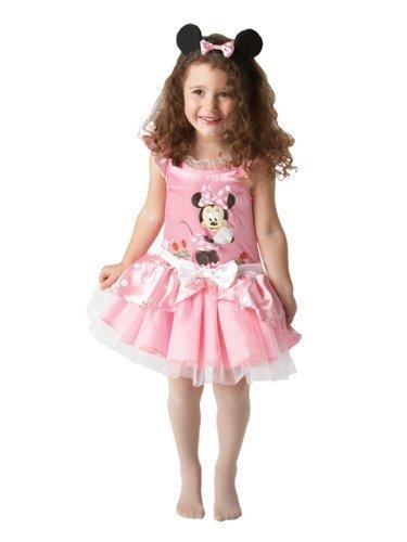 Kostüm Minnie Ohren Maus Ohne - Rubie's Minnie Maus-Kostüm mit Haarband für Mädchen 86 (12-24 Monate)