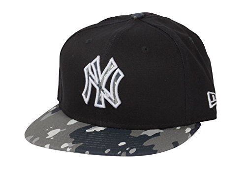 Brim Fitted Cap (New Era - 9Fifty fitted Strapback - MLB New York Yankees - Camo Break (S/M))