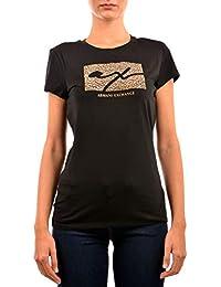 AX ARMANI EXCHANGE T-Shirt Donna 6ZYTBK-YJS8Z Autunno Inverno 5cb49a35729b