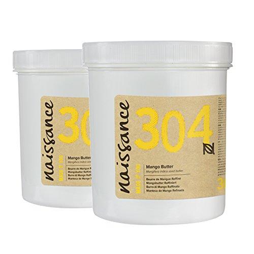 Naissance Mangobutter, raffiniert 500g (2x250g) (Seife Mango-butter)