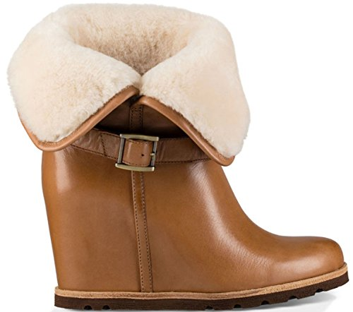 ugg-australia-womens-ellecia-womens-leather-boots-in-chestnut-in-size-38-brown