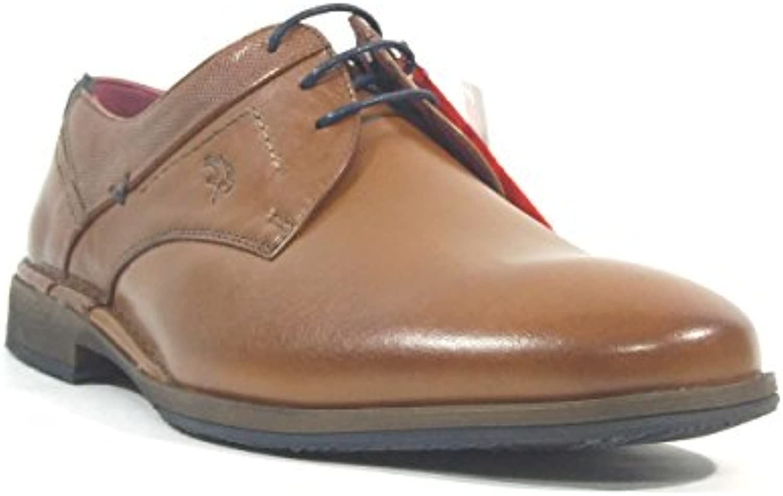 Zapato Fluchos De Piel Marron 9684_MEPM -