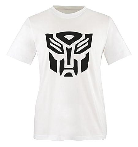 TRANSFORMERS - Kinder T-Shirt Weiss / Schwarz Gr. 134-146