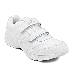 Asian Shoes Boy's GENIUS White School Range