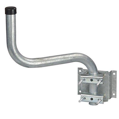 A.S.Sat 23240 S-Form Wandhalter feuerverzinkter Stahl variabel 40 cm Wandabstand