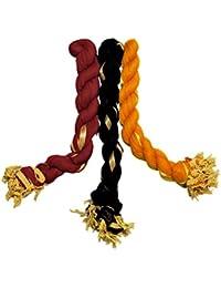 Dupatta (Weavers Villa Set Of 3 Multicolor Chiffon Dupattas (70 Different Colour Set Combinations Available)) - B06XCPX3PM