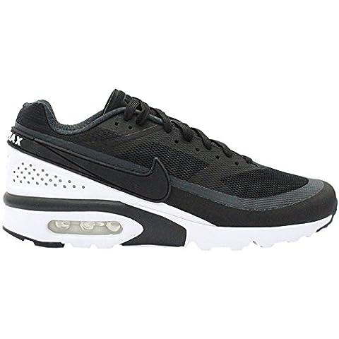 Nike Air Max BW Ultra, Chaussures de Running Homme, Noir / Blanc (Black / Black-Anthracite), 40 EU