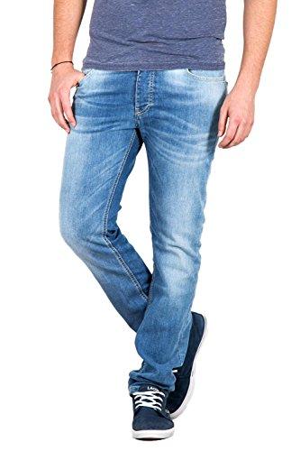 FIFTY FOUR - Jeans skinny fit da uomo glint ja22 w38 denim chiaro