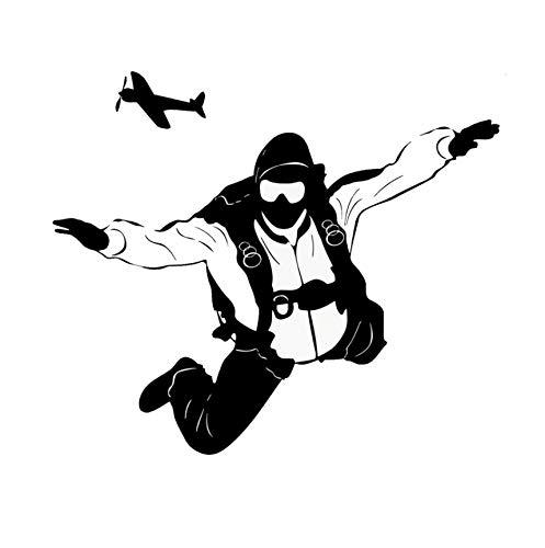 sonalisierte Fallschirmspringen Extreme Sport Auto Aufkleber Vinyl Abziehbilder Über Den Körper ()