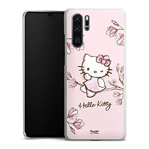 DeinDesign Hülle kompatibel mit Huawei P30 Pro Handyhülle Case Hello Kitty Merchandise Fanartikel Magnolia