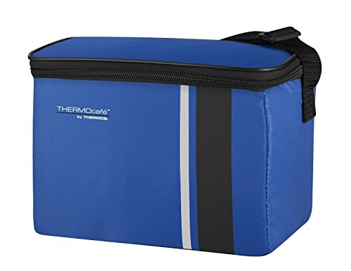41gGFFhEbzL - Thermos ThermoCafé Cooler, Blue, 6 Can/ 3L
