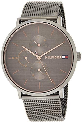 Tommy Hilfiger Damen Multi Zifferblatt Quarz Uhr mit Edelstahl Armband 1781945 -