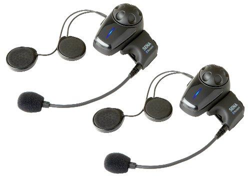 Sena SMH10D-10 Paquete Doble De Auricular E Intercomunicador Bluetooth, Para Motocicletas