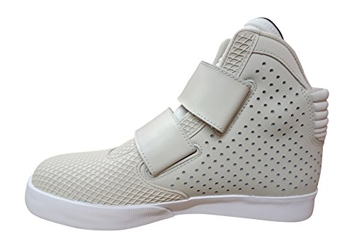 Nike Flystepper 2k3 Prm, espadrilles de basket-ball homme light bone white 006