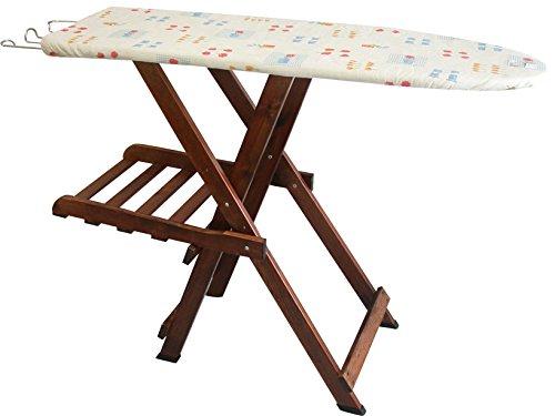 HOME IN ROMBO PINOCCHIO - TABLA DE PLANCHAR DE MADERA  SURTIDO: MODELOS/COLORES ALEATORIOS