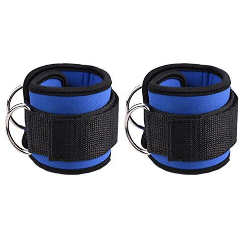 Kunfang Tobilleras Deportivas D Ring Cable Máquinas