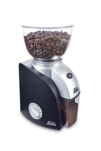 Solis 960.94 Scala Plus Kaffeemahlwerk, Kunststoff, Schwarz