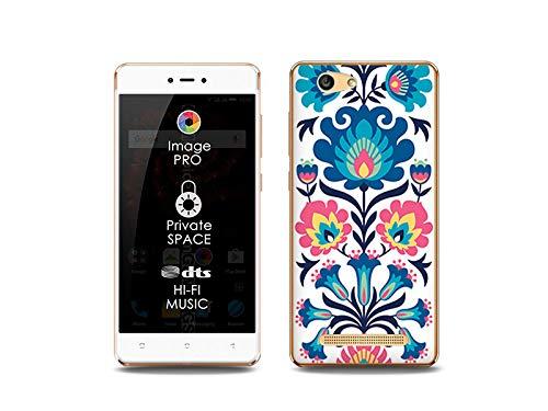 etuo Handyhülle für Allview X3 Soul Lite - Hülle, Silikon, Gummi Schutzhülle Fantastic Case - Volksmuster