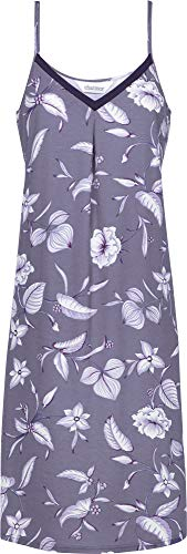 Charmor Damen-Nachthemd Interlock-Jersey lila Größe 48