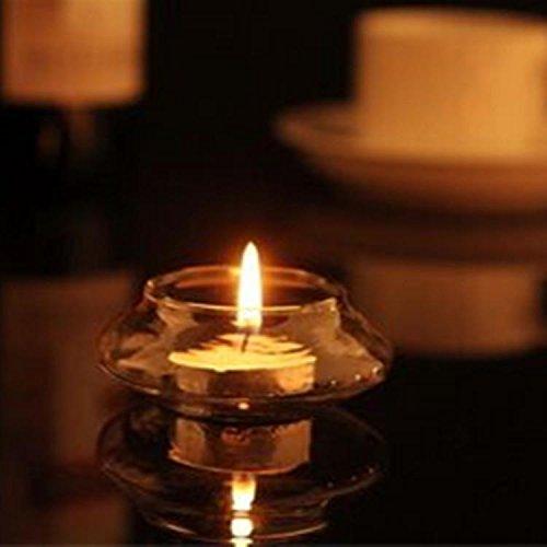 Kicode Lichthalter Kerzenstent Candlelight Dinner Glas Kerzen Votive Inhaber Glas Transparent Für Candlelight Dinner Hochzeiten