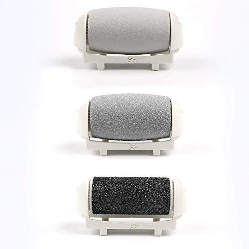 Ersatzrolle für MYCARBON Hornhautentferner, Mycarbon wiederaufladbare Fußfeile, arbeitet elektrisch. Elektrische Nagelfeile, Nagelpflege, Maniküre, Werkzeug zur Hornhautentfernung, Fußpflege mit Diamant Kristallen, besonders kraftvoll.